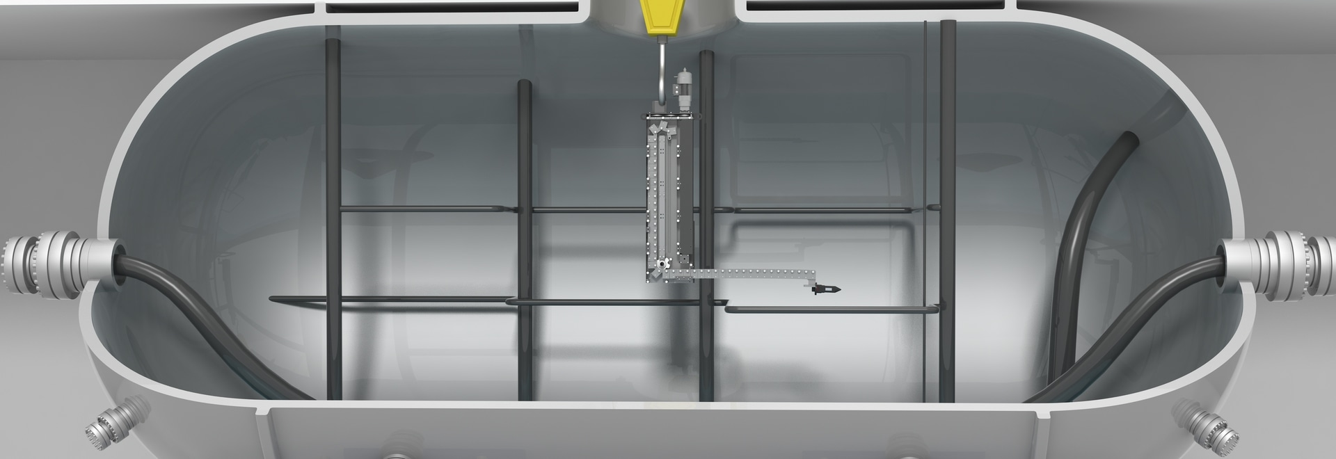 TELESCOPIC JIBS  FOR INTERVENTION  IN CONFINED ENVIRONMENTS