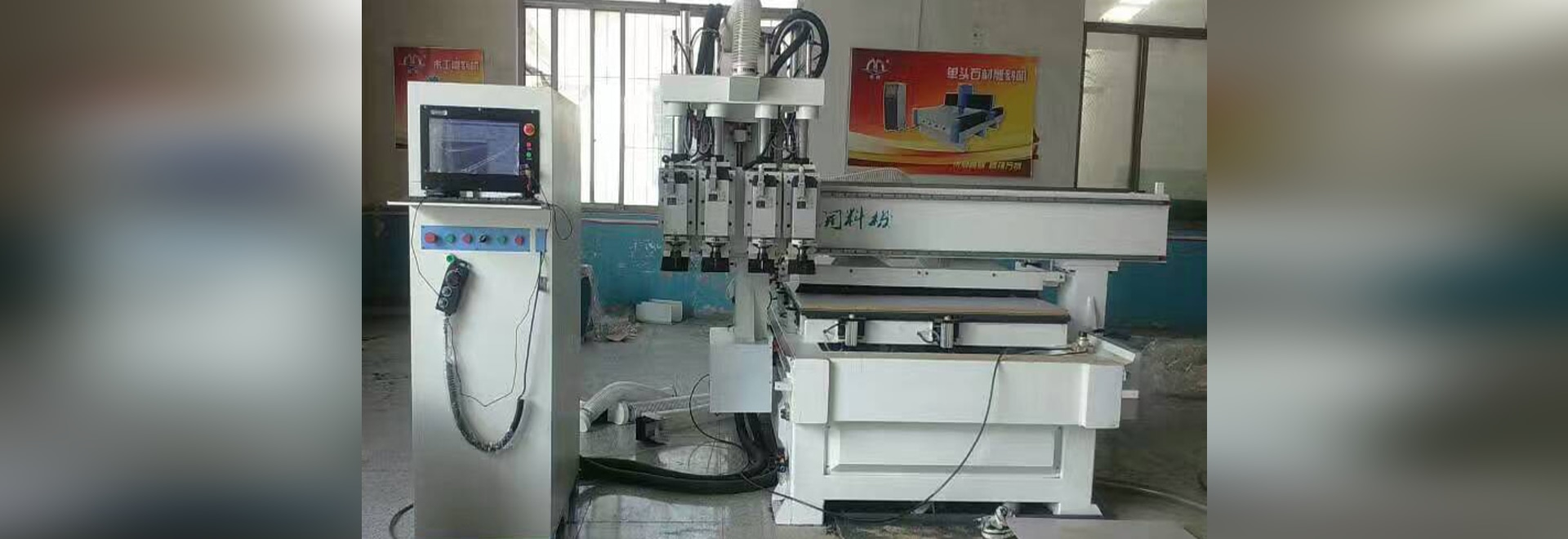 This machine is economic ATC CNC router for nest cutting, drilling, carving and slotting. It is designed for processing cabinet, wardrobe, closet,etc And double working position ensures processing ...