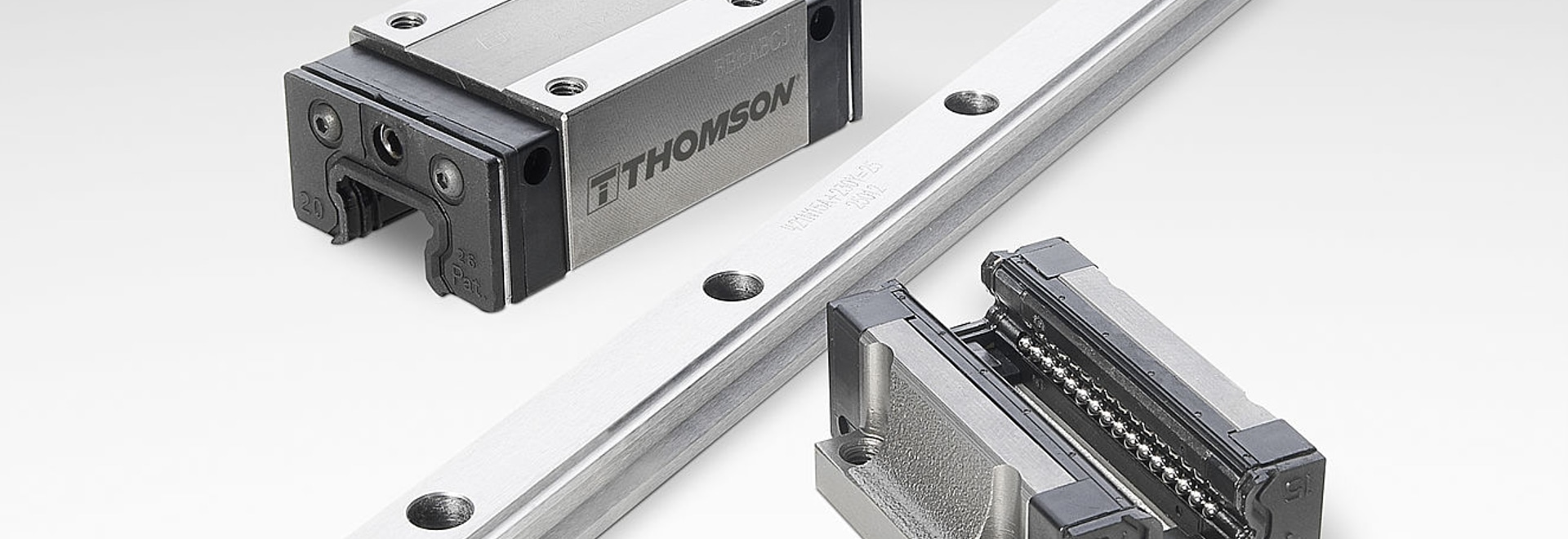 Thomson 400 Series Profile Rail Linear Guides are ideal for automation applications.