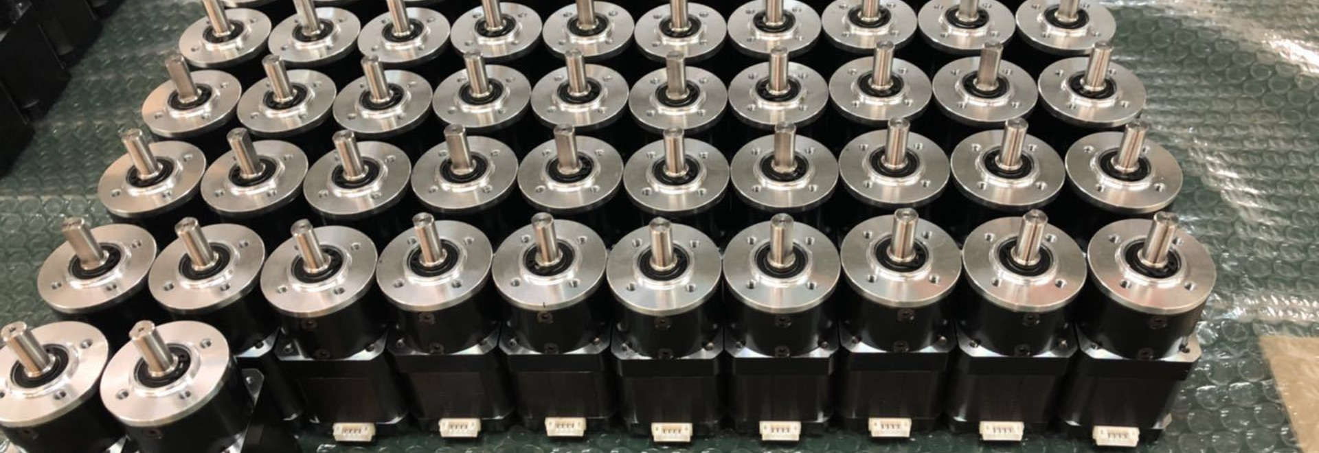 Three different gearbox materials for 42mm Planetary geared motor