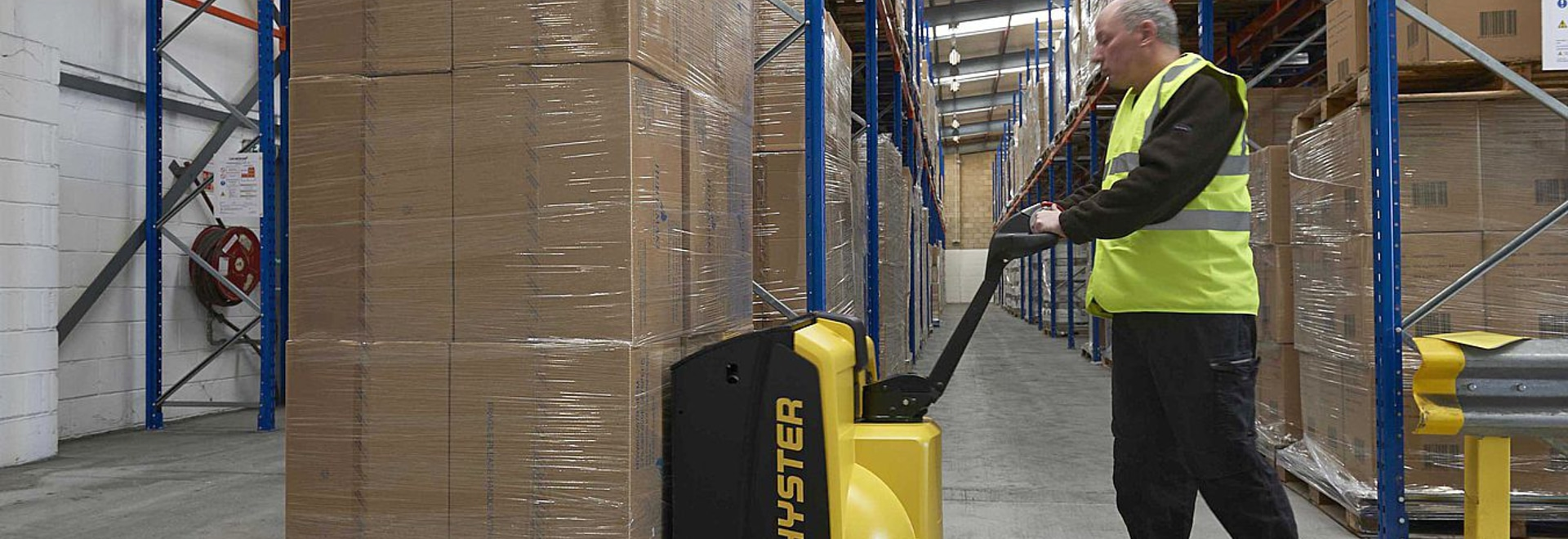 Tough New Pallet Truck from Hyster