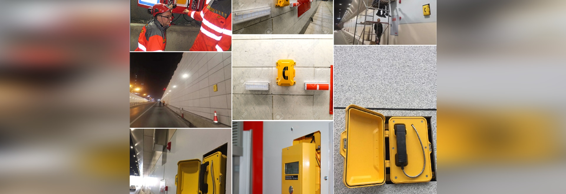 tunnel emergency communication broadcasting system