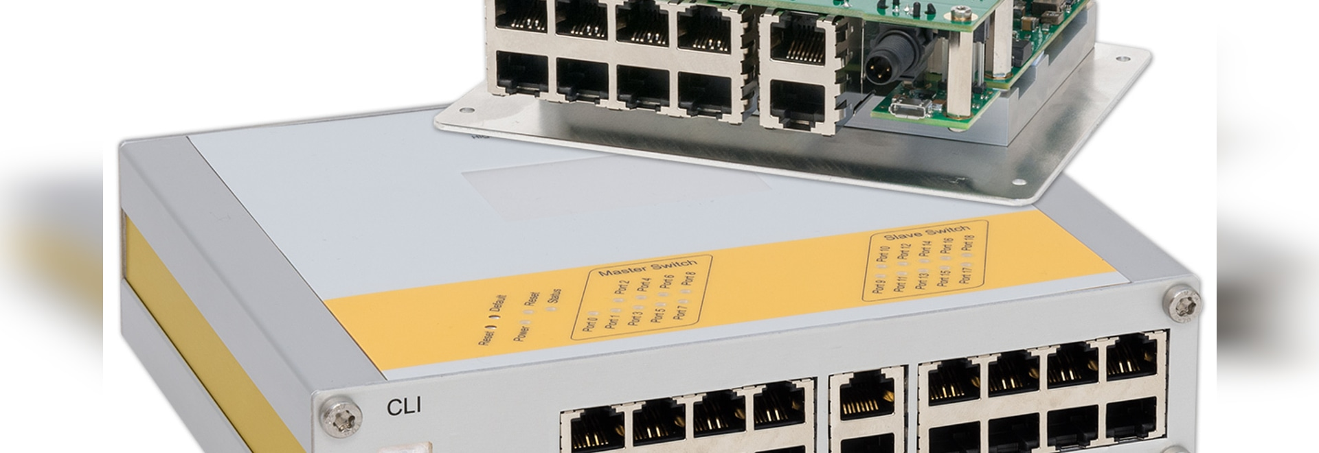 uMAGBES 10- and 19-port Switch