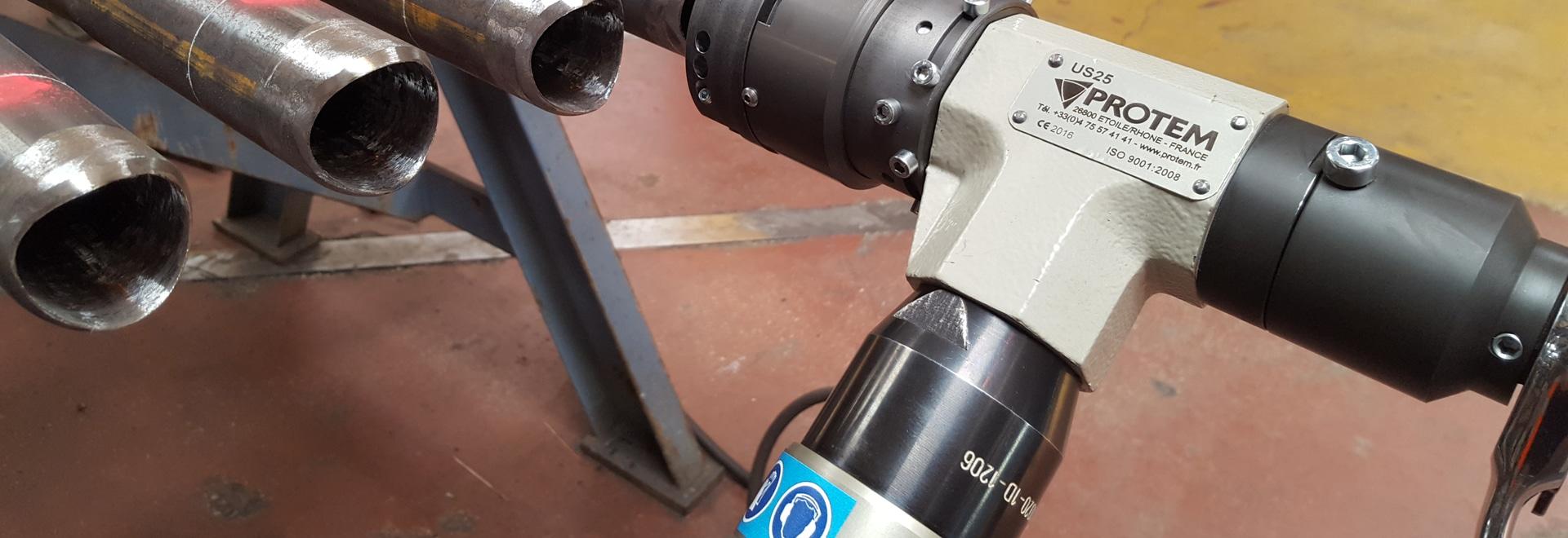 US25GL - SADDLE BEVELING MACHINE