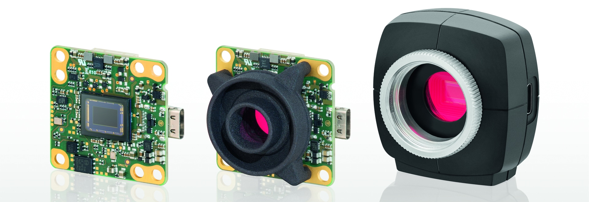 USB 3.1 Gen 1 project cameras with the PYTHON 480 sensor from ON Semiconductor