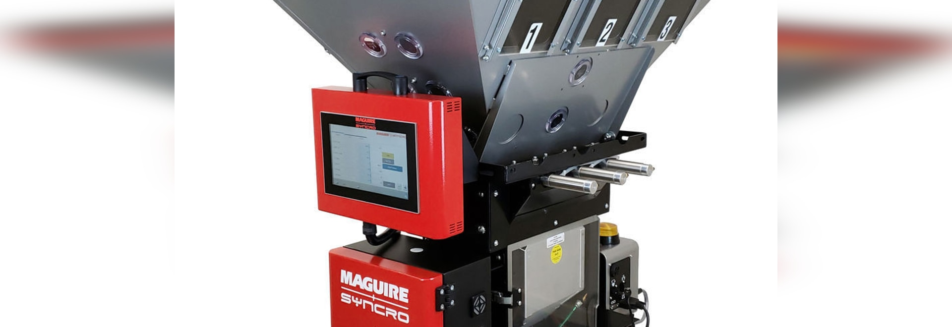 Weigh Extrusion Blender: the WXB devices come in three sizes (© Maguire)