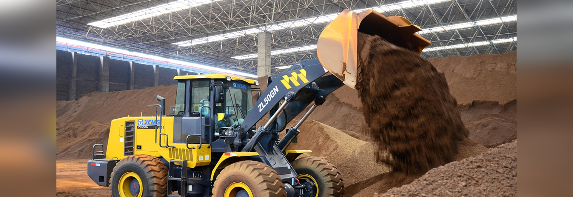 XCMG ZL50GN Wheel Loader Roll out ceremoniously