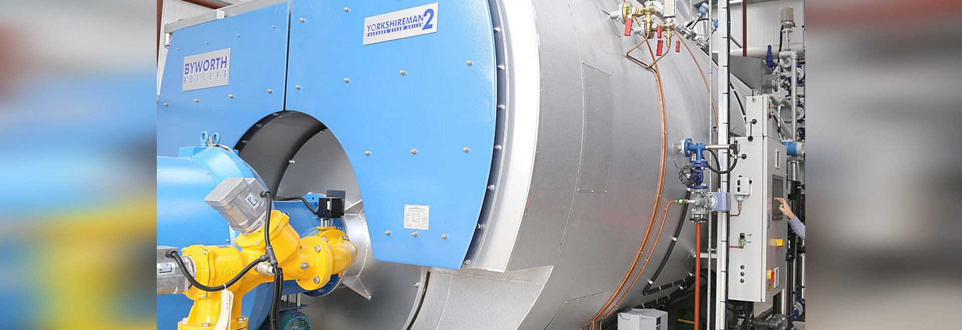Yorkshireman 2 boiler : run process using either natural gas or ...