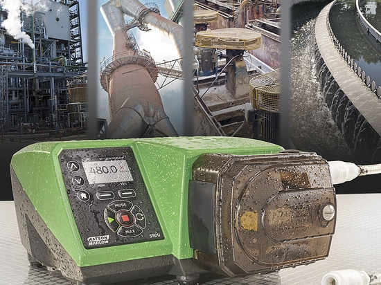 New Watson-Marlow 530 pumps ensure safe, accurate and intuitive operation for industrial and environmental applications