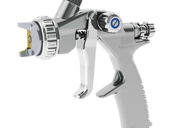 NEW: spray gun by Dürr