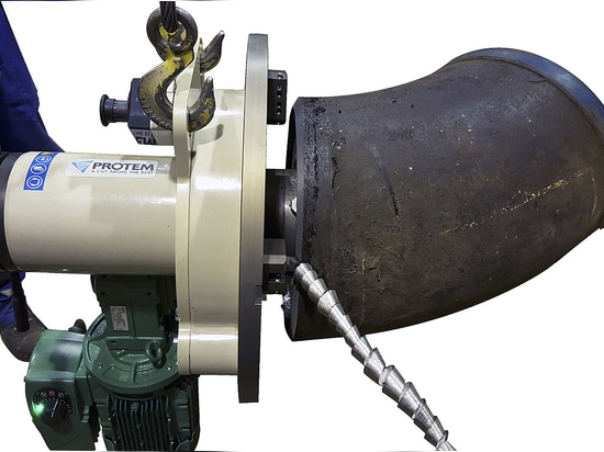 US150 – Beveling Machine with Elbow mandrel assembly