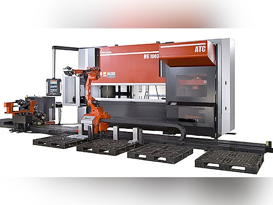 TOTAL FLEXIBILITY AND BENDING EFFICIENCY: HG ARs, the medium-part automated system by AMADA
