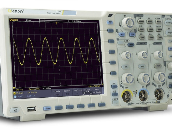 12-bits touch screen XDS series oscilloscope by Fujian Lilliput Optoelectronics Technology Co.,Ltd