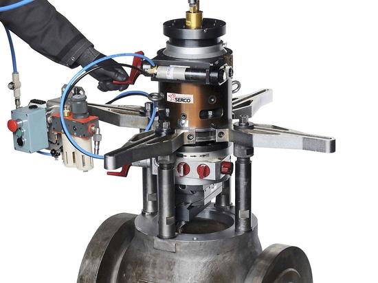 "TU 1100 Ø 0 - 1100 mm  (0"" – 43.3"") - Portable Facing and Boring Equipment"