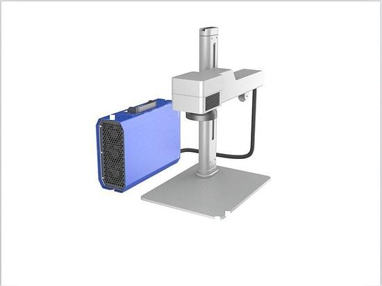 High-Speed Mini Fiber Laser Marking Machine for Plastics Metals for OEM