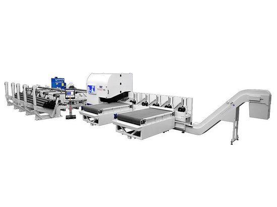 NEW: fiber laser cutting line by O.M.P. s r l