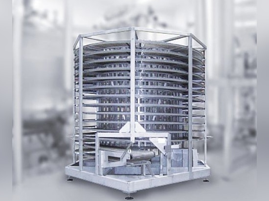 Cooling tower for food products
