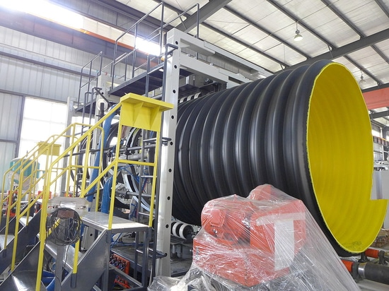New Model of Steel Reinforced Corrugated Pipe Machine Has Been Published