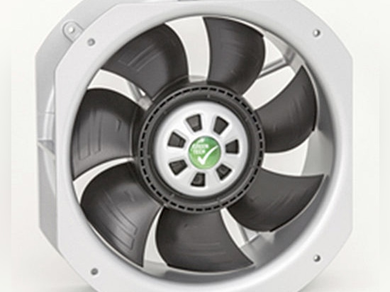 Filter fan with EC technology from häwa reduces electric power consumption and noise level
