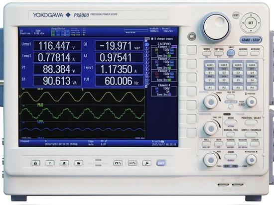 World's first precision power scope by YOKOGAWA Europe