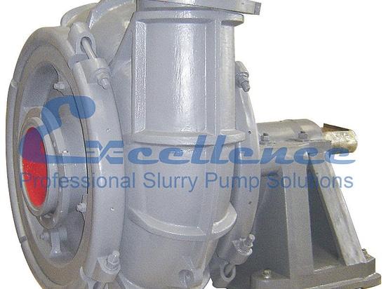 Wear-resistance gravel pump