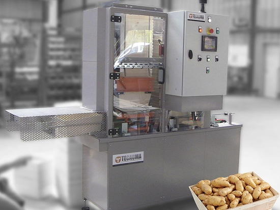 Automated wooden punnet unstacker