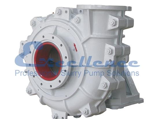 Anti-abrasive slurry pump for mining and metallurgy