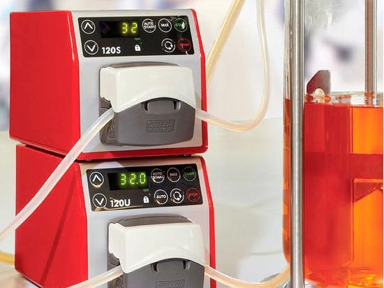 New laboratory peristaltic pump