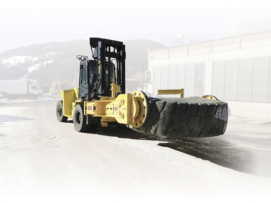 Hyster Tyre Handlers help increase mining machine uptime