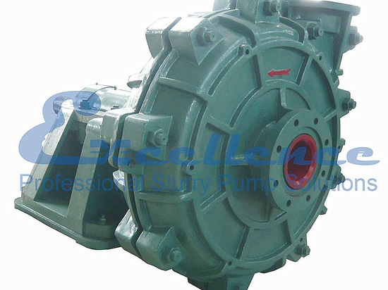 Heavy duty slurry pump with high head and large capacity