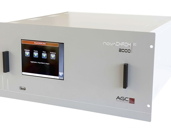 AGC Instruments launches new NovaCHROM 2000 Gas Chromatograph for Argon Purity