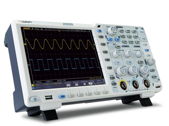OWON XDS 12-bits oscilloscope ease your eyes in measurement