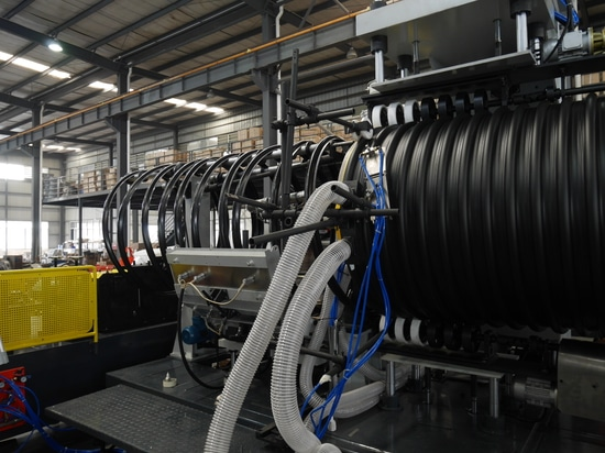 new generation steel reinforced corrugated pipe technology