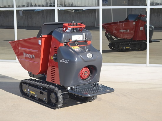 Minidumper HS701 now also available with petrol engine