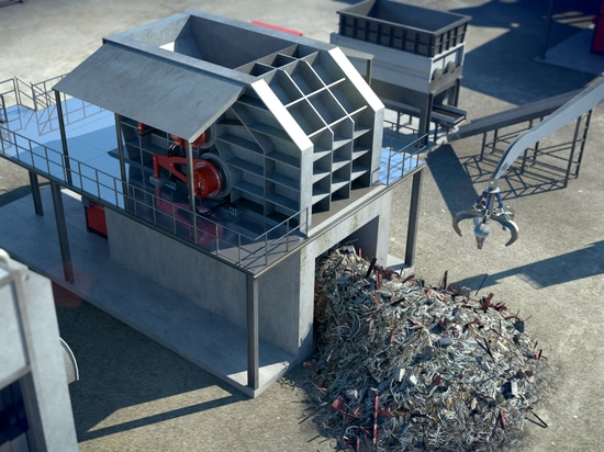 For shredders, the hydraulic direct drive is a simple answer to complex recycling challenges