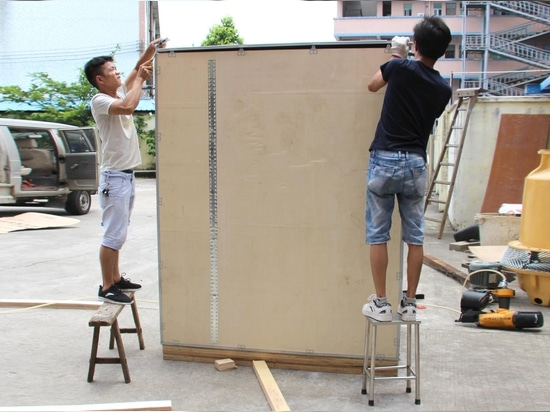 UV weathering test chamber is going to be shipped to USA