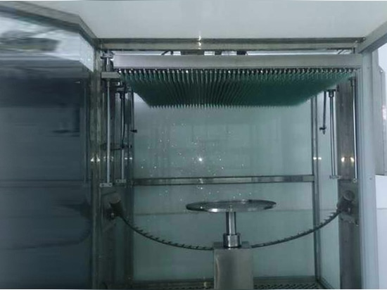 Singapore customer's IPX123456 integrated rain test chamber has installed well on site