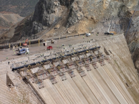Steel Reinforced Pipe Applied in Water Dam for Hydraulic Power Station in Turkey