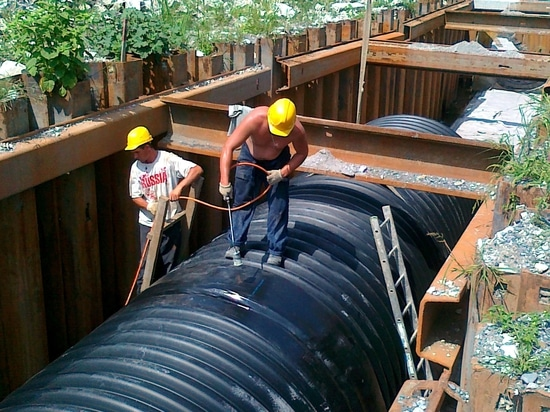 Steel Reinforced Corrugated Pipe for Drainage