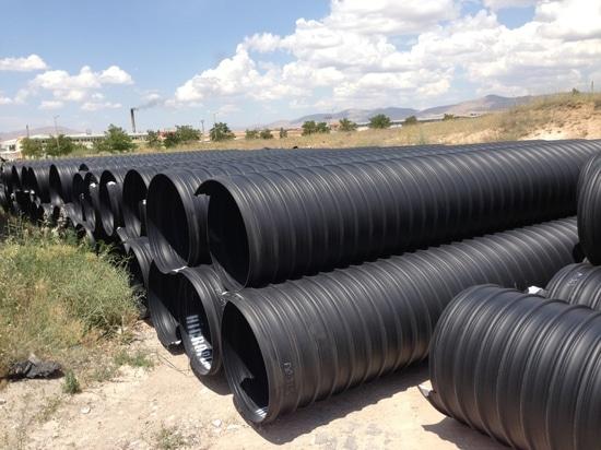 Steel Reinforced Corrugated Pipe Installations in Turkey