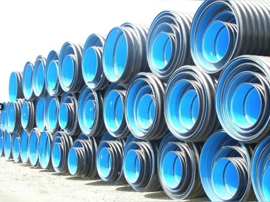 Steel Reinforced Corrugated Pipe