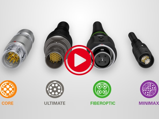 Fischer Connectors' four product lines