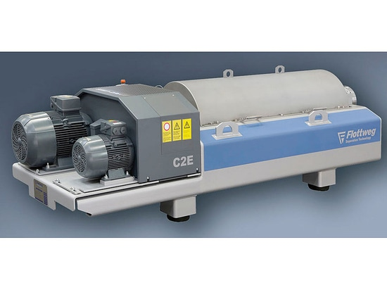 The New C2E Decanter Centrifuges for Small Sewage Treatment Plants