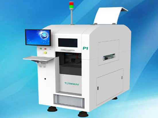 SMT Automatic solder paste jet printing machine P1
