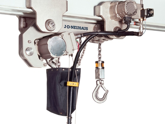 NICKEL PLATED HOISTS SUITABLE FOR  HYGIENICALLY CRITICAL AREAS