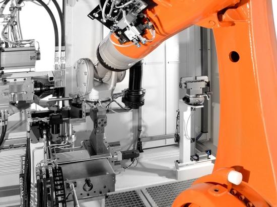Industrial robotics in mechanical engineering