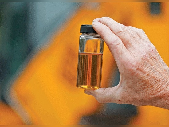 Is this fluid clean? Most contamination particles in hydraulic fluid are too small to be seen by the naked eye, which is why contamination-monitoring instruments are important for maintaining high ...