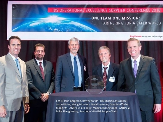 Moog Receives Special Award for Partnership From Raytheon - Integrated Defense Systems