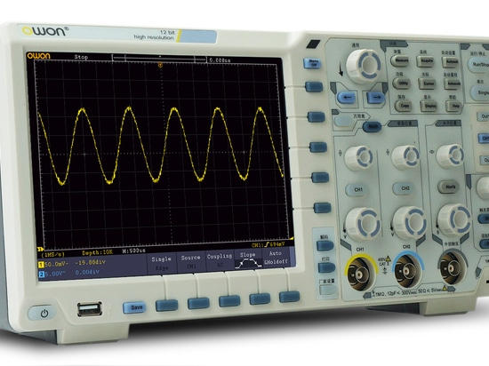 OWON 200MHz 14-bits Oscilloscope Launches XDS Family