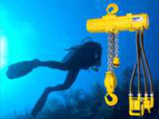 Purpose-Designed Hoists for Heavy Duty Underwater Operation